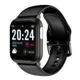 Bakeey V6F ECG+PPG Heart Rate Blood Pressure Oxygen Monitor Weather Forecast Information Reminder Smart Watch