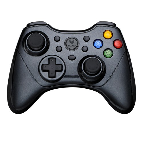 Rapoo V600S Gamepad 2.4G Wireless Connection Game Controller X/D/A Three-mode Ergonomic Vibration Shock for PS3 PC Support Android Steam