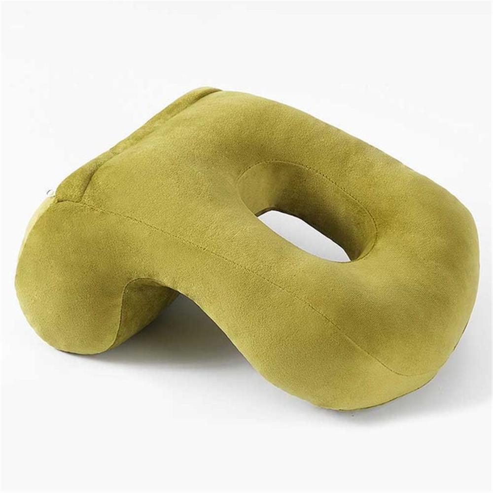Nap Pillow Memory Foam Pillow Soft Breathable Supporter Seat Cushion Headrest Travel Neck Pillow Home Office Sleeping Pillow