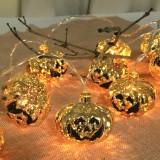 Battery Powered Fairy String Light Halloween Decor Pumpkin Lantern Lamp Party Home Props Garden