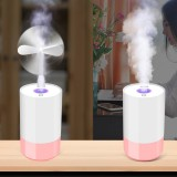 3 in 1 Mini Ultrasonic Humidifier Aroma Diffuser USB LED Air Purifier for Home Car Office