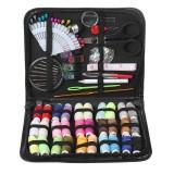 100PCS Sewing Kit Thread Roll Scissor Tape Pin Thimble Hand Sewing Needle Set