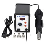 JCD 858D 700W 110V 2 in 1 Hot Air Soldering Station BGA Rework SMD SMT Welding Repair Tool Heater LED Digital Solder Iron