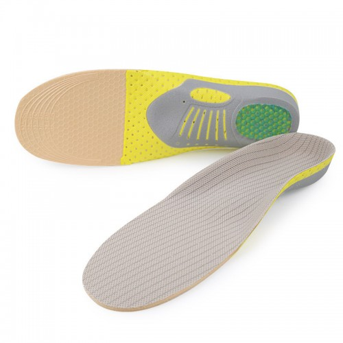 TENGOO XD-640 Orthopedic Insoles Orthotics Flat Foot Health Sole Pad for Shoes Insert Arch Support Pad for Plantar Fasciitis Feet Care