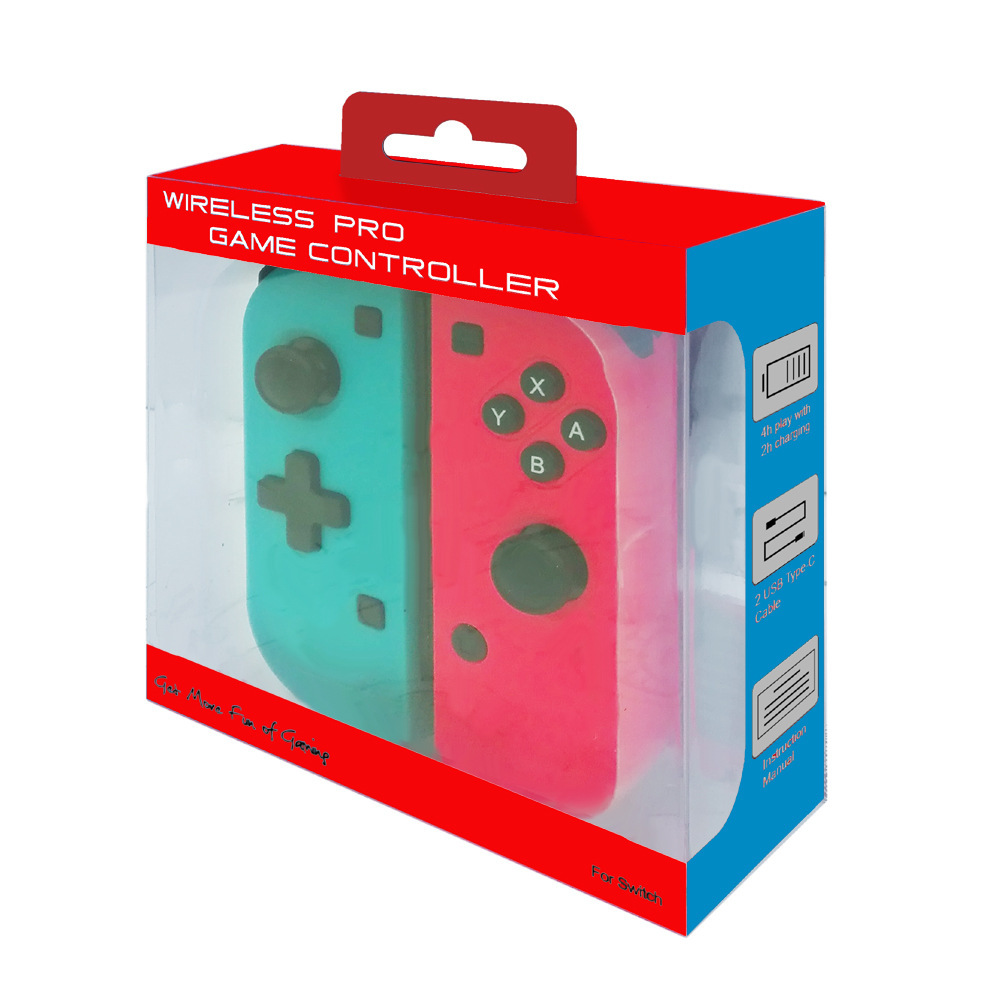 PowKiddy bluetooth Vibration Gamepad Gyroscope Somatosensory Game Controller for Nintendo Switch Game Console Left Right Game Pads for NS