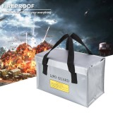 Lithium Battery Anti-explosion Bag Safety Fireproof Carry Bag Explosion Proof Waterproof Handbag 260*130*150mm