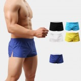 Beach Shorts Men Trunk Summer Short Pants Solid Breathable Quick Dry Swim Shorts Surfing Shorts