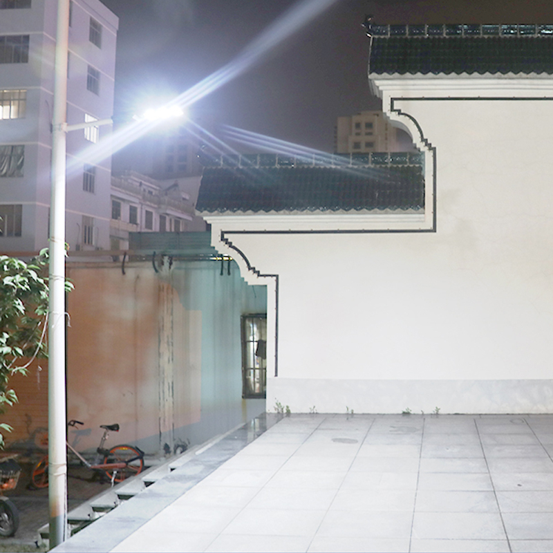320/640/960/1280LED Solar Powered Street Light Garden Wall Lamp Timing Control
