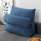 Sofa Back Cushion Bed Couch Seat Rest Pad Waist Support Backrest with Head Pillow Home Office Furniture Decorations