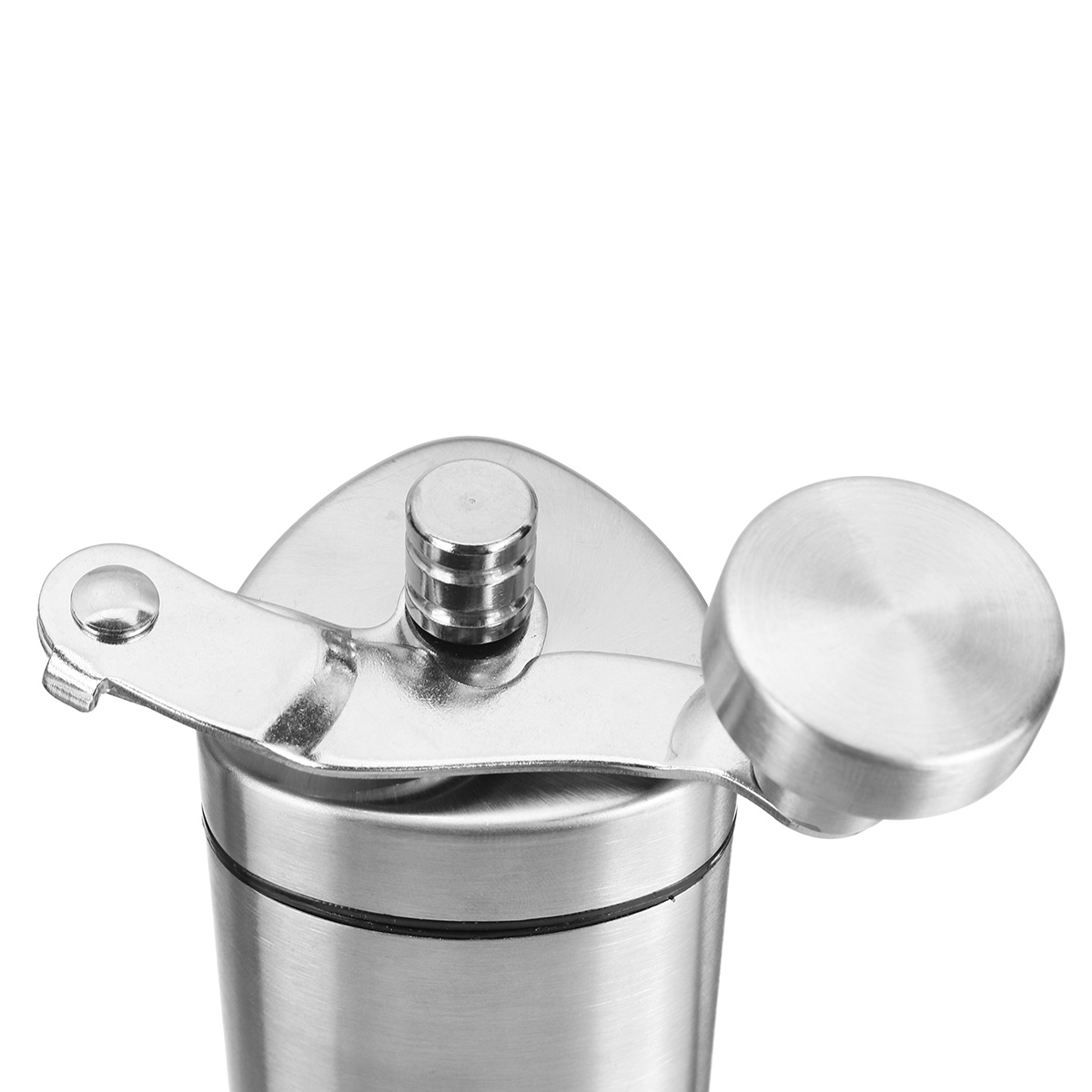 Portable Stainless Steel Coffee Grinder Manual Bean Grinding Hand Tool Mill