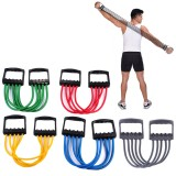 5 Spring Ajustable Arm Strength Trainer Gym Fitness Rubber Chest Expander Exercise Resistance Bands for Home Fitness