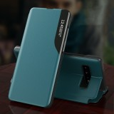 Bakeey Magnetic Flip Smart Sleep Window View Shockproof PU Leather Full Cover Protective Case for Samsung Galaxy S10