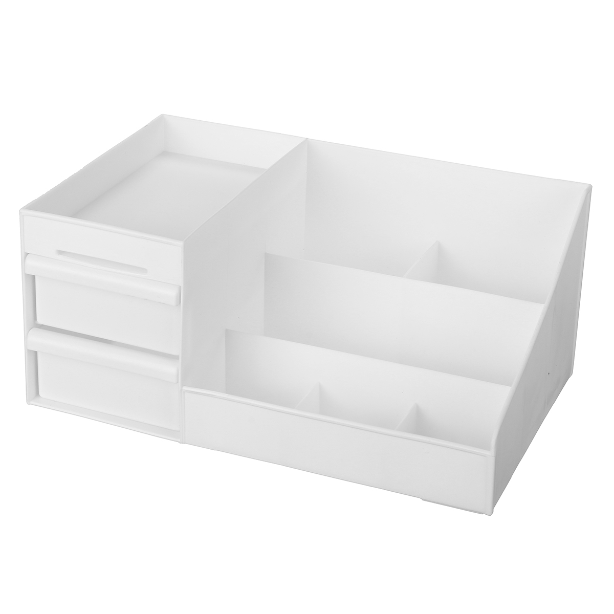 Plastic Cosmetic Makeup Storage Box Organizer Case Holder Jewelry with Drawer