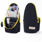 Angoo Stand up Pencil Case Multifunctional Pencil Bag Stationery Students Large Capacity Pen Holder Supplies