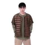 Naturehike Winter Short Sleeve Jacket 10D Nylon Waterproof Ultralight 95% Goose Down Warm Vest Waterproof Fashion Leisure Coat