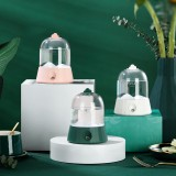 400ml Air Humidifier 2 Modes USB Rechargeable 2000mAh Battery Life Low Noise for Home Car Office