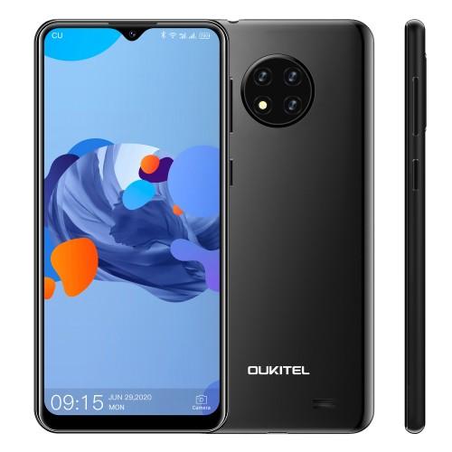 OUKITEL C19 Global Version 6.49 inch HD+ Android 10 GO 4000mAh 13MP Triple Rear Camera 2GB 16GB MT6737 4G Smartphone