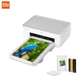 XIAOMI Mijia Photo Printer 1S Automatic Laminating Portable Smart APP Remote Photo Paper Printer with 3-inch Adhesive Photo Paper