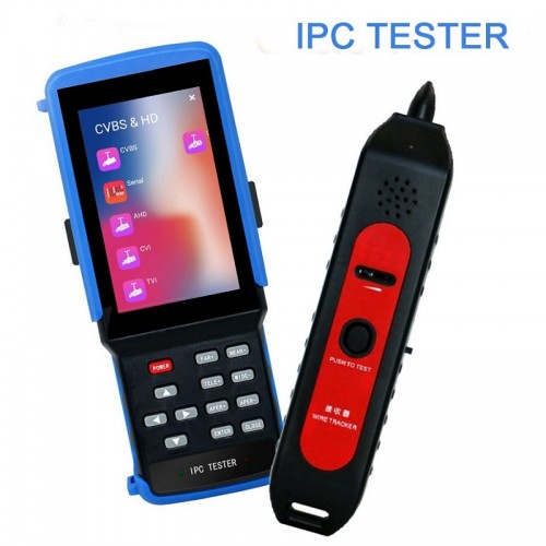 IPC-9310S 4inch Display 4K H265 IP 8MP CVI 8MP TVI 5MP AHD CCTV Camera Video Test Professional Testing Tools with Cable Test