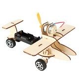 DIY Electric Taxiing Aircraft Scientific Experimental Technology Children's Toys Small Production Invention Materia Stationery Study Supplies