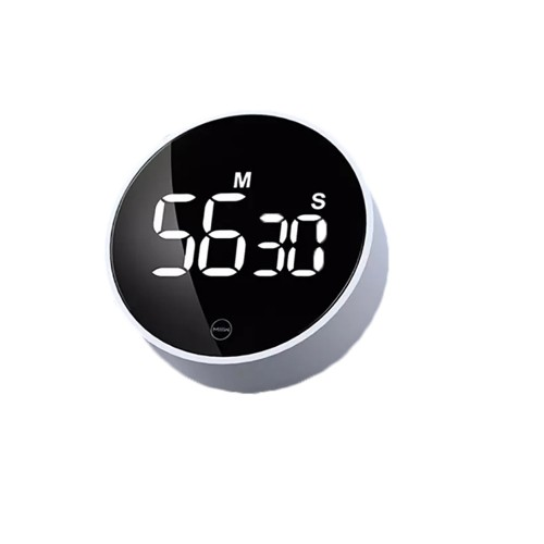 Xiaomi MIIIW Rotary Mute Timer LED HD Digital Display Electronic Magnetic Suction Timing Alarm Clock Fitness Digital Timer for Cooking Studying Tools
