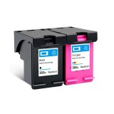 Colorpro 302XL Ink Cartridge Ink Application with Ink Compatible for HP DeskJet HP1111 HP2131 HP2132 HP1112