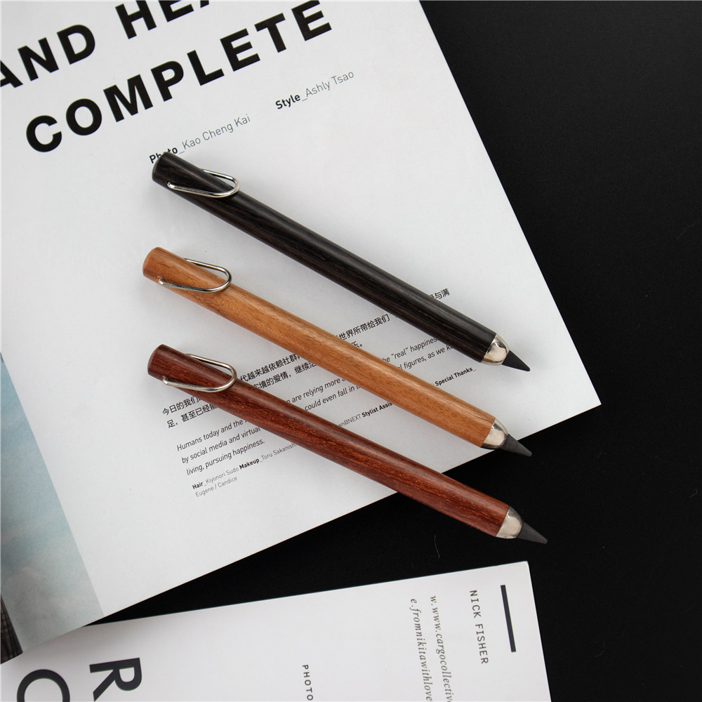 Shuli 3319 Inkless Pen Environmental Protection Wear Resistance Metal Pen Stationery Student Office Suppiles