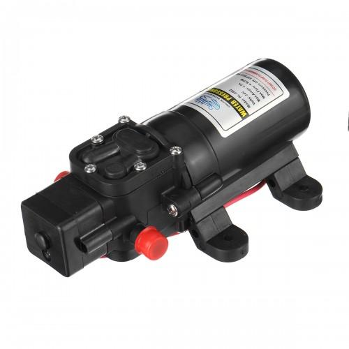 12V/24V Mini Diaphragm Pump Boat Self Priming Water Pump High Pressure Outdoor Booster Pump For Yacht RV