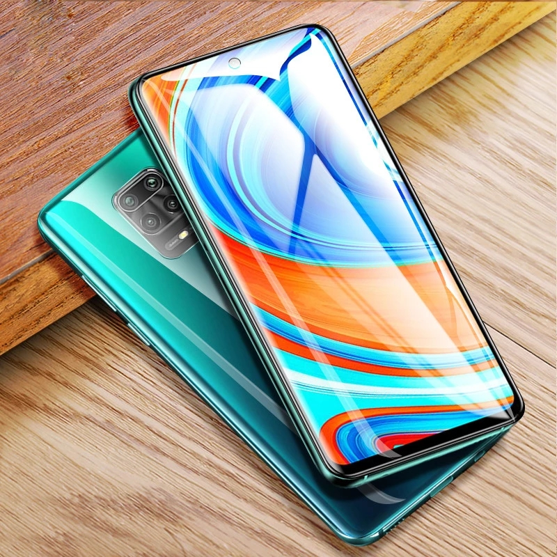 Bakeey for Xiaomi Redmi Note 9S / Redmi Note 9 Pro Film HD Automatic-Repair Anti-Scratch Full Coverage Front / Back Soft Hydrogel Film Screen Protector