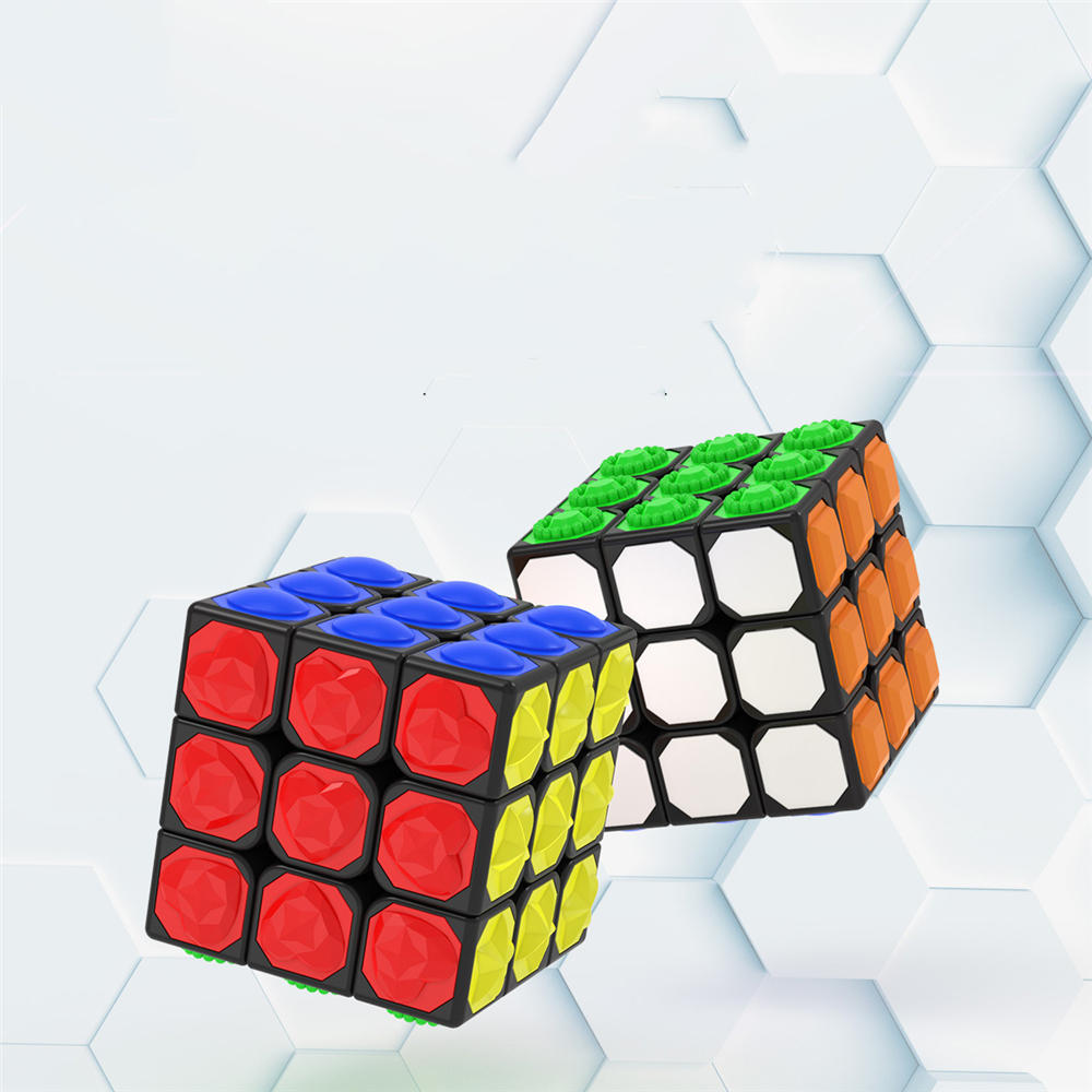 3*3*3 Magic Cube Touch Professional Speed Game Magic Cube Early Educational Puzzle Toy for Children Adult Play