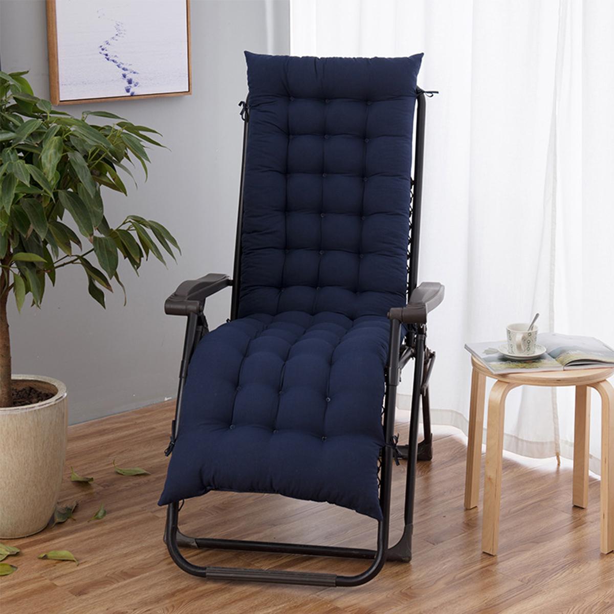 170CM Long Replacement Cushion Pads For Garden Sun Lounger Recliner Chair