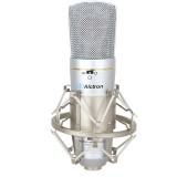 Alctron MC330 Microphone Audio Condenser Mic Professional Studio Microphone Shock Mount for Studio Live Broadcast Singing