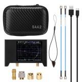 2.8 Inch Screen 3G 50KHz-3GHz Vector Network Analyzer S-A-A-2 NanoVNA V2 Antenna Analyzer Shortwave HF VHF UHF with Iron Housing