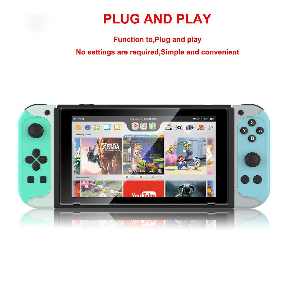 NS191 Switch bluetooth Handle Mini Gamepad Dual Turbo Burst Gaming Joystick with Screen Shot Vibration