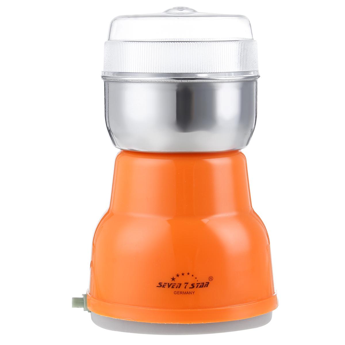 220V Power Electric Coffee Grinder Grinding Milling Bean Nut Spice Matte Blender