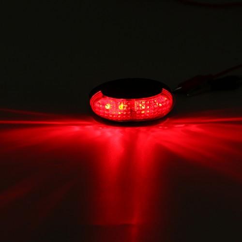 LED Side Marker Indicator Light Clearance Lamp For 12/24V Truck Trailer Lorry Van