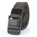 AWMN Nylon 125×3.8cm Tactical Belt Heavy-Duty Quick-Release Metal Buckle Belt