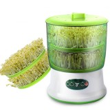 220V Intelligent Bean Sprout Maker Large Capacity Thermostat Green Seeds Growing Automatic Bean Sprout Machine