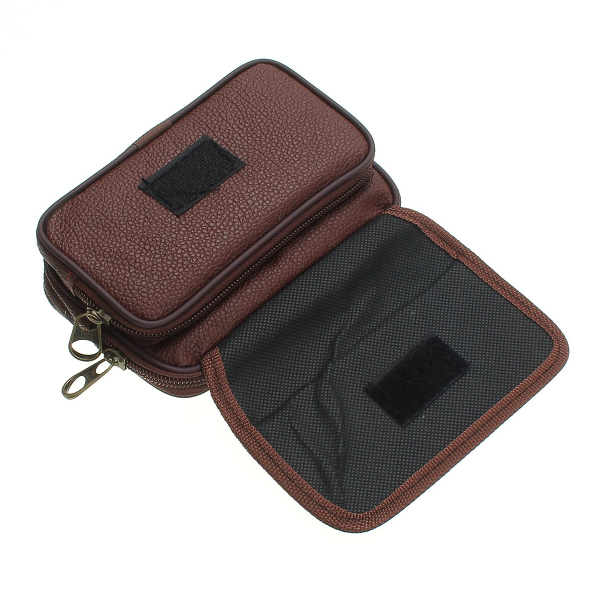 PU Leather Waist Belt Bag Phone Bag Running Wallet Hip Purse Tote Outdoor Sports Travel Camping
