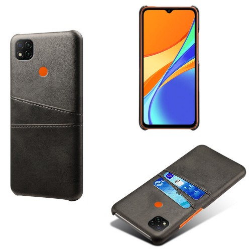 Bakeey for Xiaomi Redmi 9C Case Luxury PU Leather with Multi Card Slot Bumpers Shockproof Anti-Scratch Protective Case