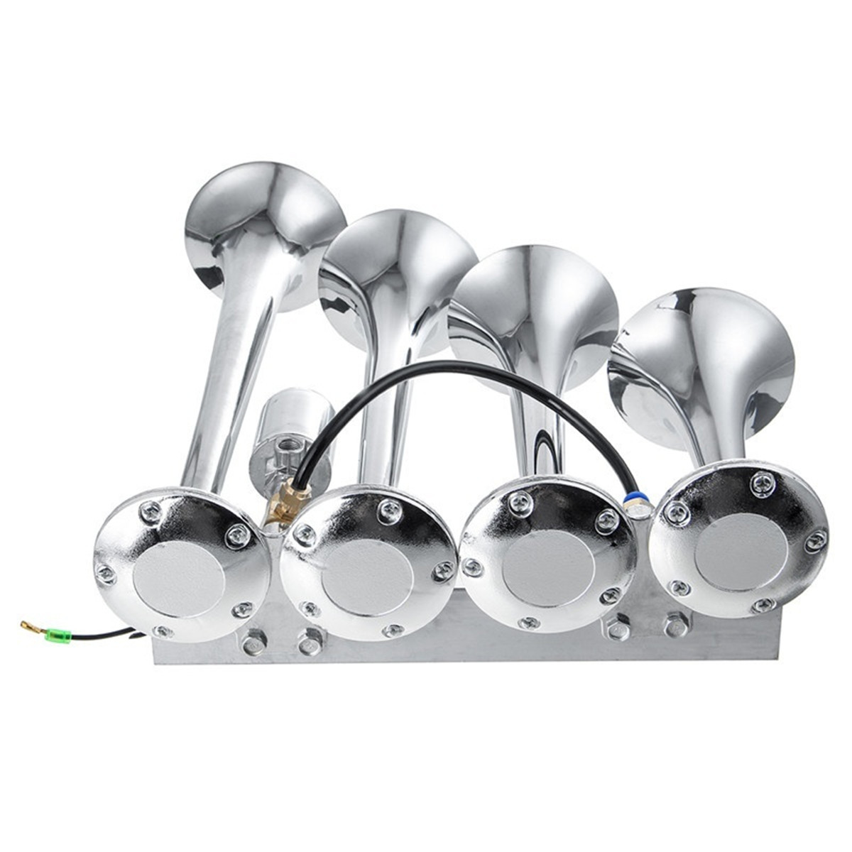 24V Four Trumpet Electric Horn Electronically Controlled Air Horn For Heavy Truck Heavy Truck