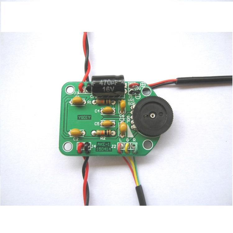 EQKIT 3W Power Amplifier Kit Amplifier Production DIY kit Small Speaker Parts Electronic Production Kit