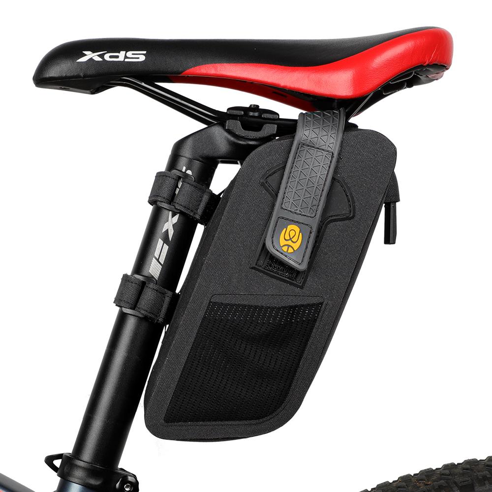 WEST BIKING 1.5L Bicycle Front Frame Bag Waterproof Bike Bag Bike Tube Handlebar Bag for MTB Road Bike