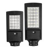 80W/150W Solar Powered LED Street Light PIR Motion Sensor Wall Lamp Garden