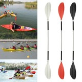 1 Pcs 213CM Aluminium Adjustable Double Head Detachable Kayak Paddle Canoe Oar Inflatable Boat Stand Up Paddle for Surfing Surfboard Outdoor Water Sport