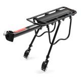 BIKIGHT Bike Rear Rack Aluminum Alloy Bike Luggage Carrier Holder Rear Seat Post Mount Bike Accessories for Adult Bikes