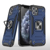 Bakeey for iPhone 12 Pro Max / 12 Pro / 12 / 12 Mini Case Armor Bumpers Shockproof Magnetic with 360 Rotation Finger Ring Holder Stand PC Protective Case