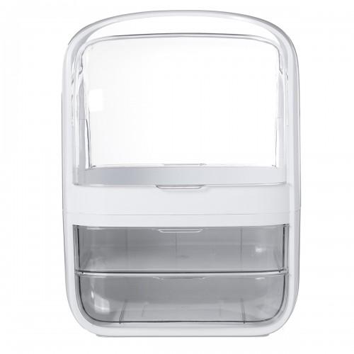 Cosmetic Storage Box Transparent Desktop Organizer Large Capacity Drawer Integrated Dressing Case Storage Box