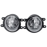 Universal Front Bumper Fog Light Lamp with H11 Bulb For Toyota Sienna Camry Corolla Highlander PriusTundra Tacoma For Lexus For Scion