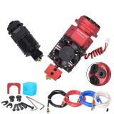 BIGTREETECH 3 In 1 Out Hotend Bowden Extruder 3D Printer Parts Three Colors Switching Multi-color 12/24V J-head Filament Nozzle For 0.4/1.75mm Titan Bowden Extruder 3D Printer Parts